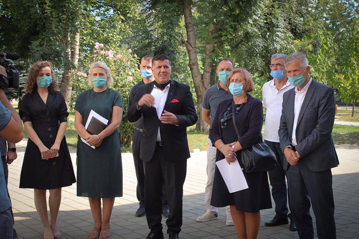 Haziri: Në Gjilanit sot janëshëruar 20 pacientngavirusiCovid-19