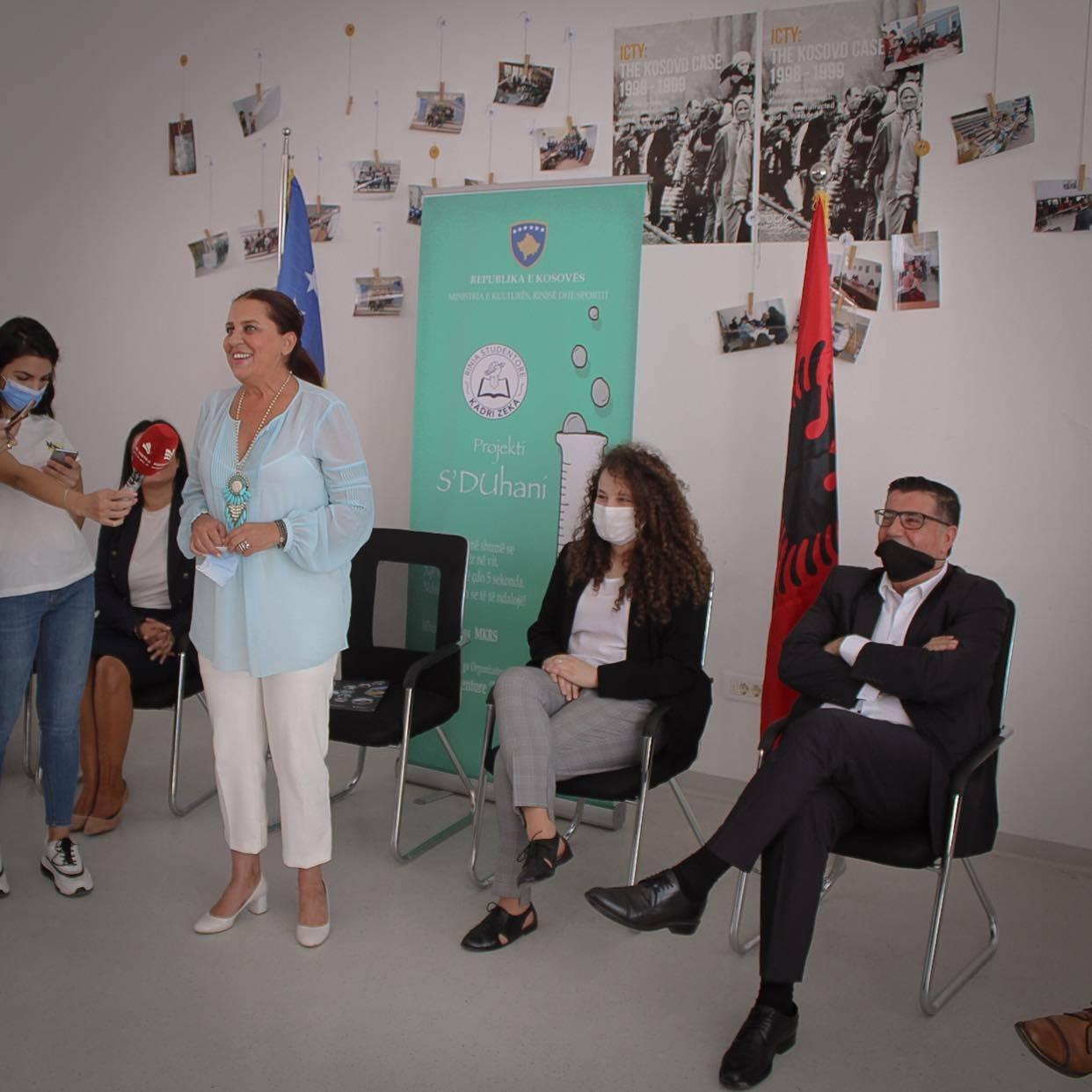 Haziri e Dumoshi: S'Duhani, thirrje për të gjithë që ta ruajmë shëndetin