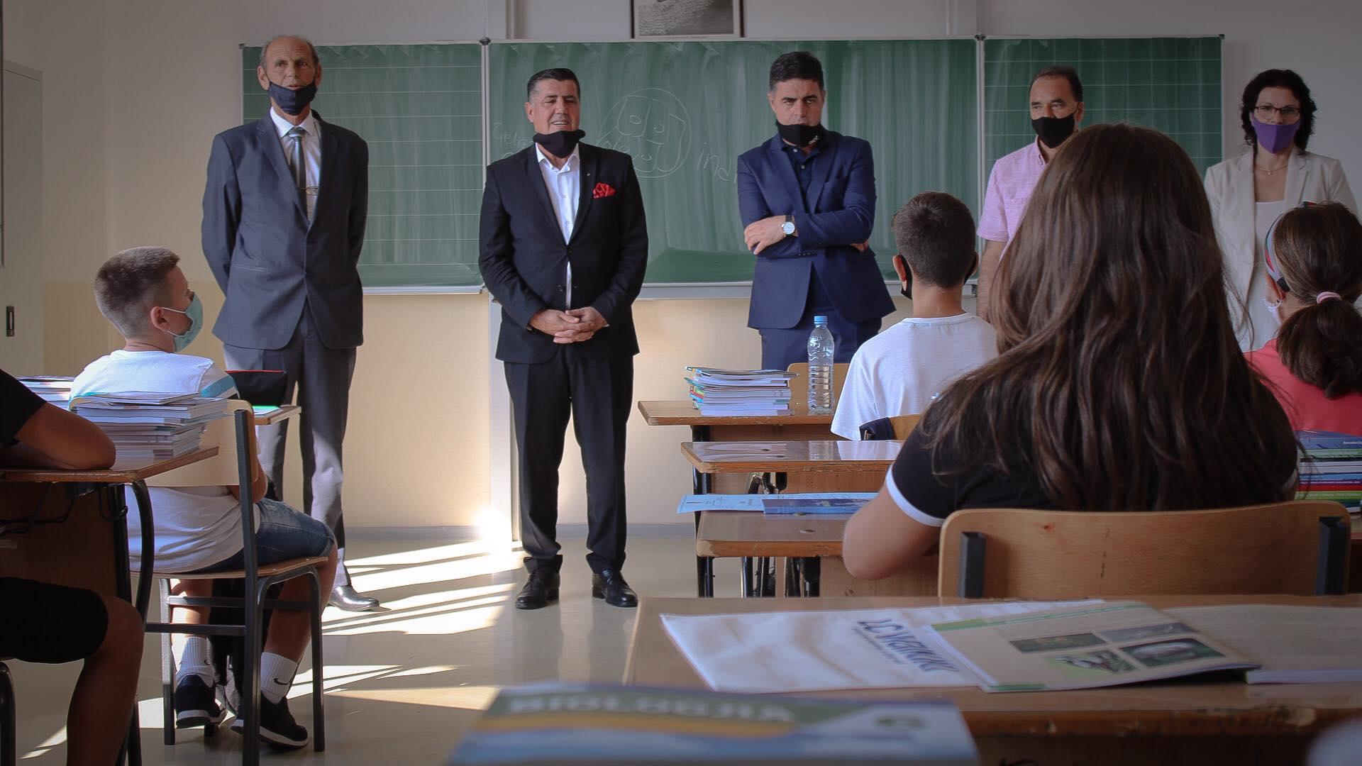Gjilani e fillon vitin e ri shkollor në bazë të planifikimit nën masa strikte kundër Covid-19