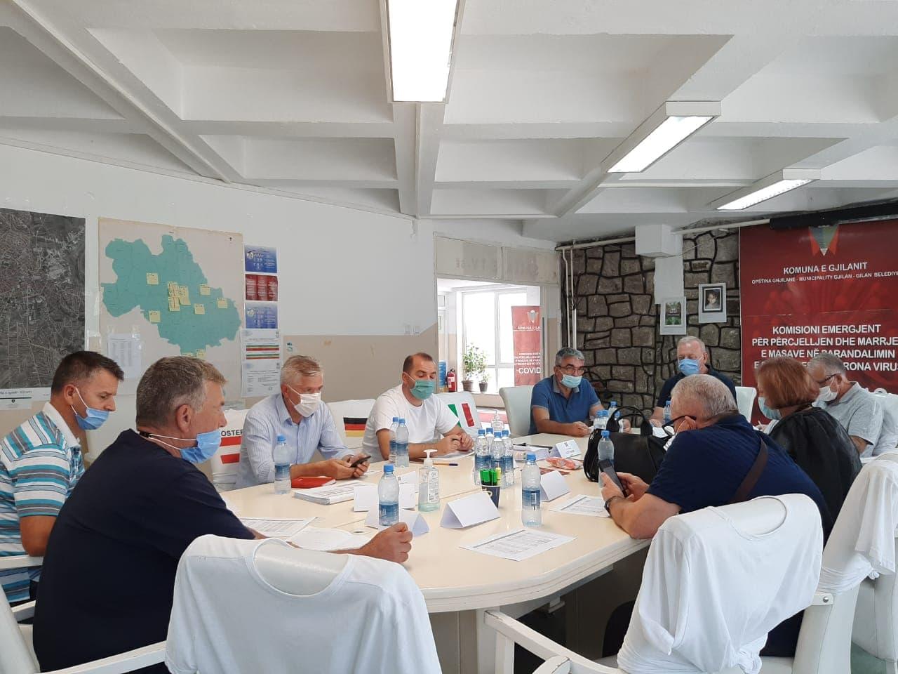 Ismajli: Komiteti i emergjencavedhe të gjitha institucionet në nivelin lokal të angazhuar kundër Covid-19