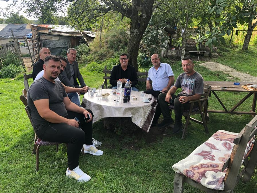 Lutfi Haziri viziton 'heronjtë e kufirit' në Stançiq