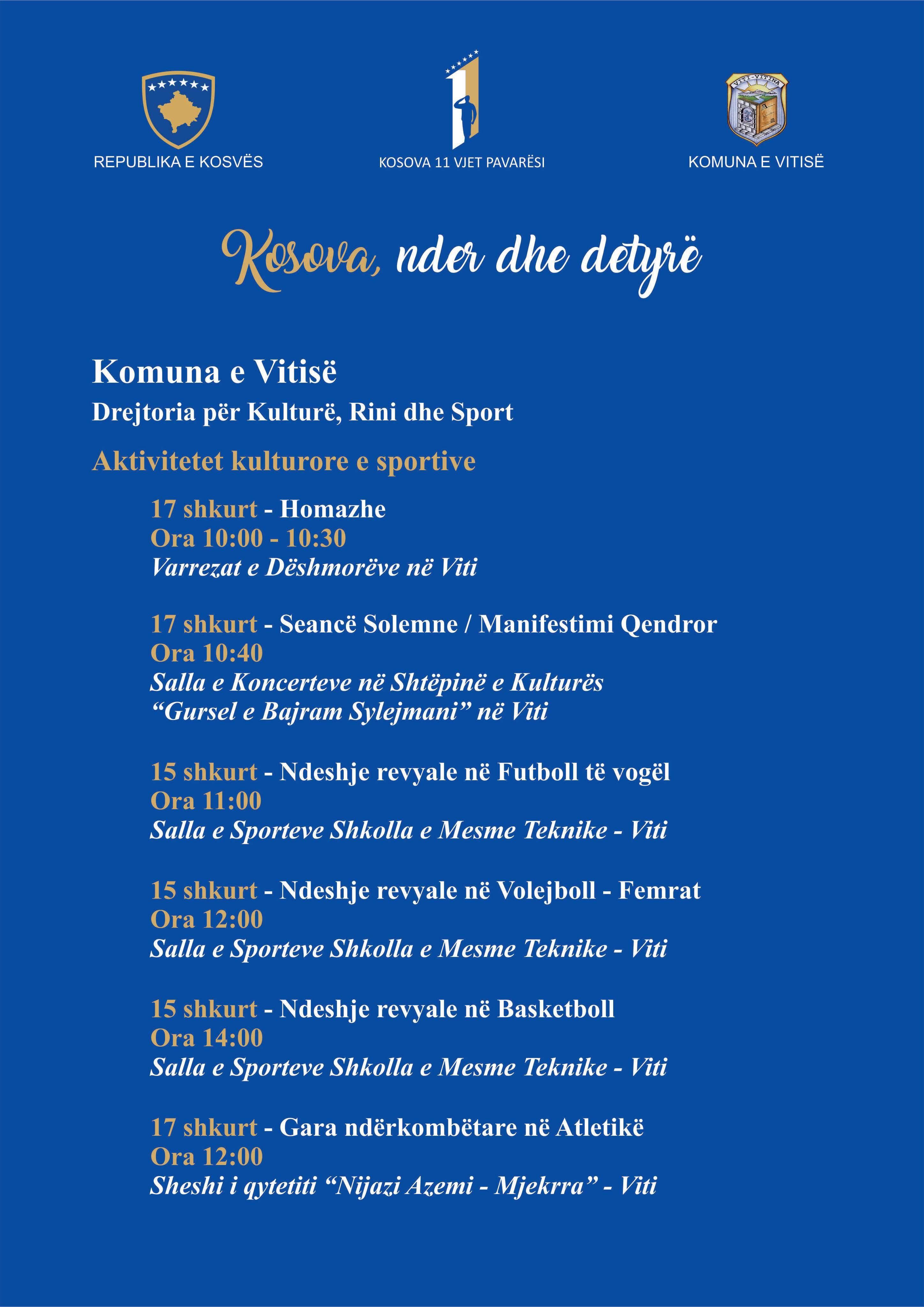 Njoftime me femra te kosoves